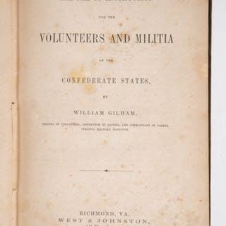 CIVIL WAR MILITIA MANUAL CONFEDERATE IMPRINT VOLUME