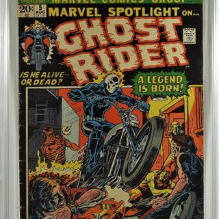 Marvel Comics Marvel Spotlight #5 CBCS 3.0