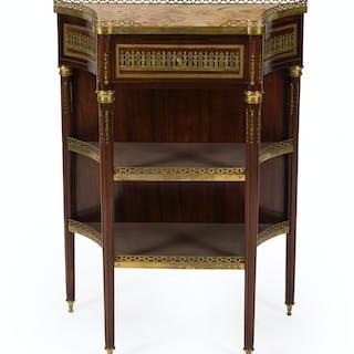 A Sormani Louis XVI-style gilt-bronze console