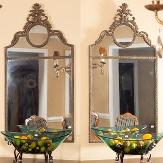 Pair of Contemporary Wall Mirrors