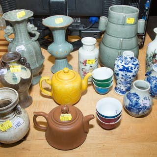 Assorted Chinese Pottery and China
