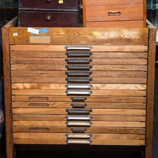 Assorted Items Including Cabinets and Instruments