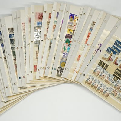 Global Stamps in Pages by Country