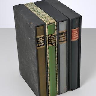 BOOKS: (4) Vols LEC Poems of Yeats, Burns, etc.
