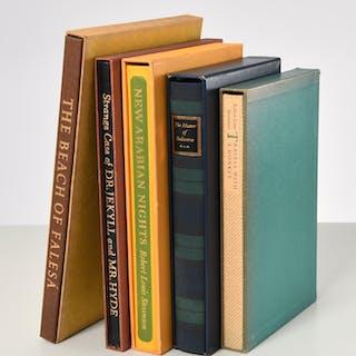 BOOKS: (5) Vols LEC, Robert Louis Stevenson