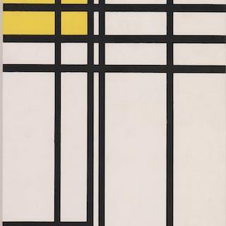 Piet C. Mondrian Original Serigraph [Modern]