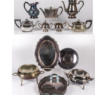 Silverplated Serving and Decorative Items