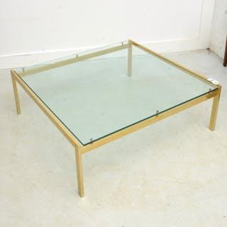 Milo Baughman style coffee table