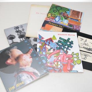BOOKS: (6) Catalogs incl. Asawa, Dine, Murray