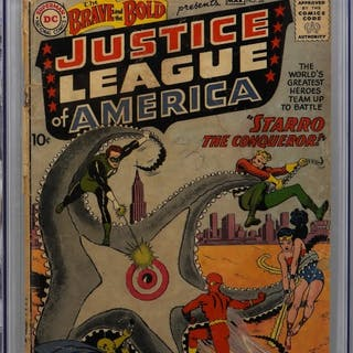 DC Comics Brave and the Bold #28 CGC 1.0