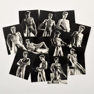 11 Bruce Bellas Nude Male Physique Photos - Bruce Bellas (1909-1974)