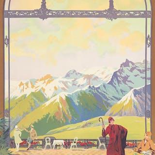 Superbagneres Luchon. ca. 1920.
