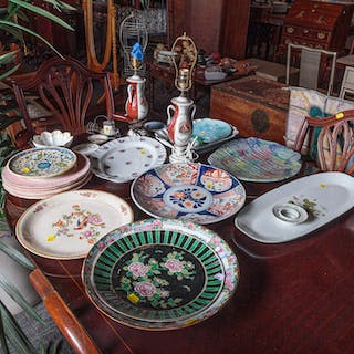 Large Group of Decorative Ceramic Items