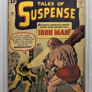 Marvel Comics Tales of Suspense #40 CBCS 3.5