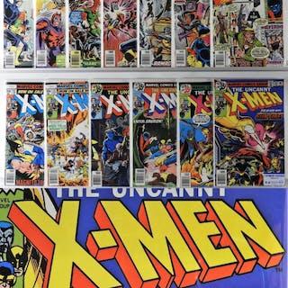 13PC Marvel X-Men #100-118 Partial Run CBCS 9.4