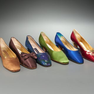 Group of Helene Arpels ladies pumps