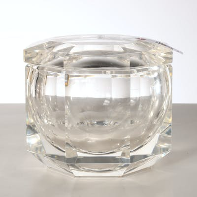 Alessandro Albrizzi (attrib.), acrylic ice bucket