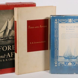 (2) BOOKS ON FORE-AND-AFT RIG BOATS