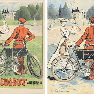 Cycles Peugeot : Maquette and Poster.
