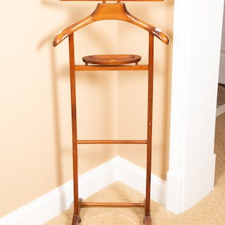 Italian Wood Butler Stand
