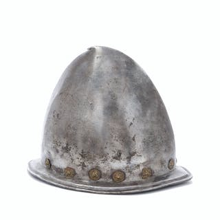 An Italian cabasset helmet