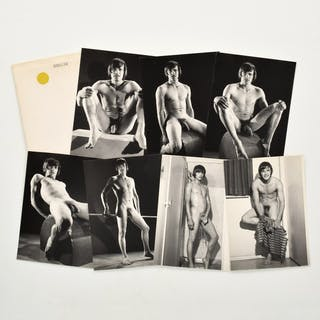 7 Bruce Bellas Nude Male Physique Photos & 7 Negatives - Bruce Bellas