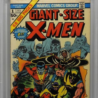 Marvel Comics Giant Size X-Men #1 CBCS 5.0