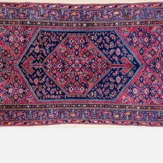 Antique Persian Malayer Wool Rug