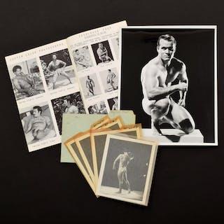 5 Bruce Bellas Nude Male Photos, Negatives, Catalog & Ephemera - Bruce