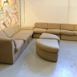 Modern sectional sofa by Directional