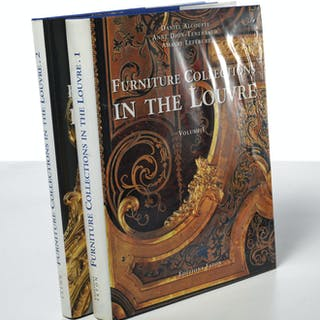 BOOKS: (2) Furniture Collections in the Louvre