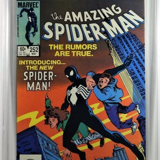 Marvel Comics Amazing Spider-Man #252 CBCS 9.4