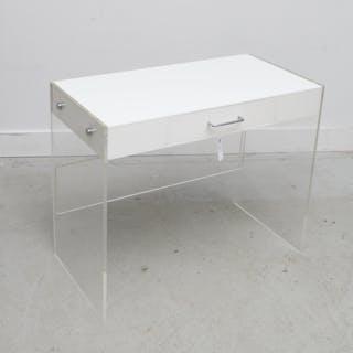 Vintage Designer acrylic desk