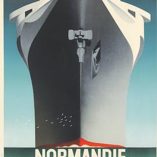 Normandie Inaugural Voyage. 1935.