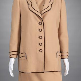 Christian Ruperto jacket & dress ensemble