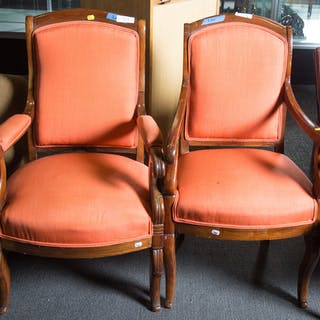 Four Classical Armchairs