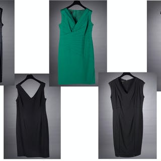 Group of Escada ladies cocktail dresses
