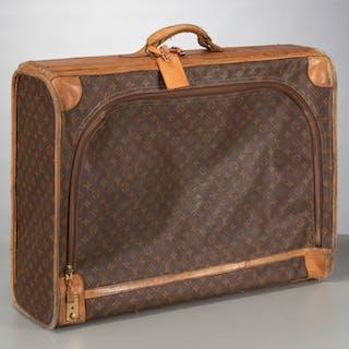 Vintage Louis Vuitton monogram canvas suitcase
