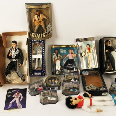 ELVIS PRESLEY DOLL COLLECTION