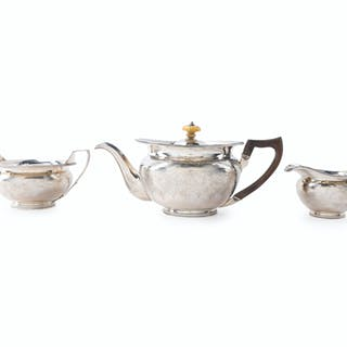 A Scottish George III sterling silver tea service