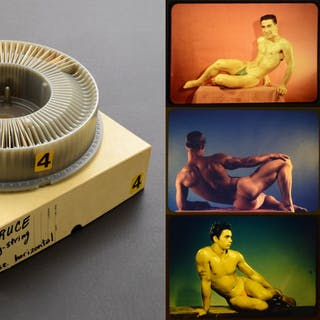 Bruce Bellas Nude Male Photo Slides & Carousel - slides: Bruce Bellas