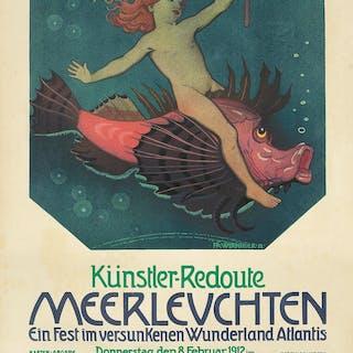 Künstler-Redoute / Meerleuchten. 1912.