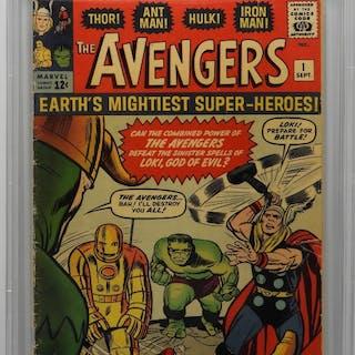 Marvel Comics Avengers #1 CBCS 1.0