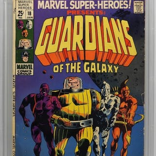 Marvel Comics Marvel Super-Heroes #18 CBCS 5.0