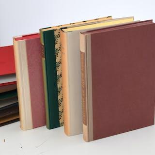 BOOKS: (4) Vols LEC Classical Lit