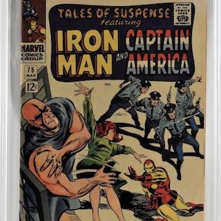 Marvel Comics Tales of Suspense #75 CBCS 9.0