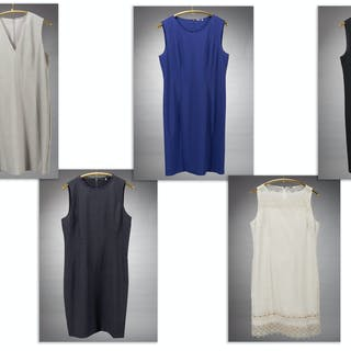 (6) Elie Tahari ladies dresses