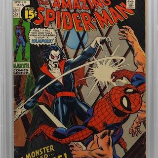 Marvel Comics Amazing Spider-Man #101 CBCS 3.5