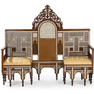 A Syrian conversational sofa