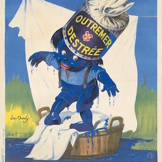 Outremer Destrée. 1921.